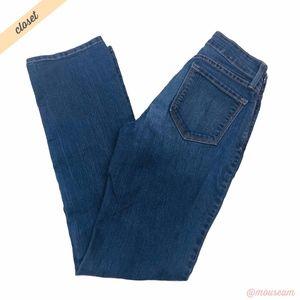 [NYDJ] Med Wash Marilyn Straight Leg Jeans